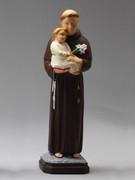 Indoor/Outdoor Statue: St Anthony 40cm