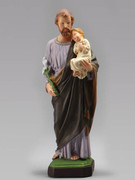 Indoor/Outdoor Statue: St Joseph 40cm