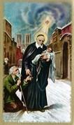 TJP Holy Card: St Vincent de Paul