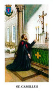 TJP Holy Card: St Cammilus: Prayer for Sick