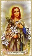 TJP Holy Card: St Maria Goretti