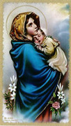 TJP Holy Card: Ferruzzi: Mother