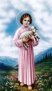 TJP Holy Card: Child Jesus: Nurses Prayer #1