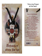 St Benedict Cord Necklace (CR73195)
