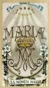 TJP Holy Card: Mary
