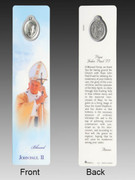 Window Charm Book Mark: Blessed Pope John Paul 11(BMB191)