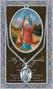 Pewter Medal: St Agatha (LF9400)