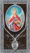 Pewter Medal: St Elizabeth of Hungary (LF9438)