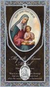 Pewter Medal: St Anne (LF9610)