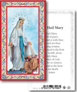 Holy Cards: 700 SERIES: Hail Mary (Miraculous) pk100