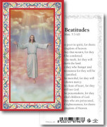 Laminated Holy Cards: 700 SERIES: Risen Christ The Beatitudes
