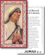 Holy Cards: 700 SERIES: Blessed Teresa of Calcutta each