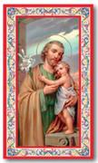 Laminated Holy Card: 700 SERIES, St Joseph