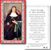 Laminated Holy Card: 700 SERIES: St Mary MacKillop