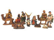 Nativity Set: 11 pieces, 10cm (NS18447)
