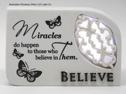 LED Message In Light: Believe (PL4717)