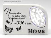 LED Message In Light: Home (PL4716)