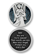 Glitter Coin: Dad (PT668)