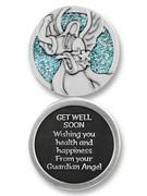 Glitter Coin: Get Well (PT643)