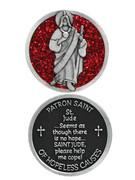 Glitter Coin: St Jude (PT689)