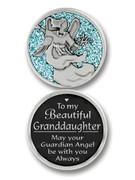 Glitter Coin: Granddaughter (PT680)