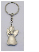 Keyring: Angel with Diamente: Light PINK