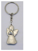 Keyring: Angel with Diamente: BLUE