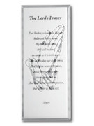 Message Mirror Plaque: Lord's Prayer