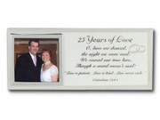 Message Mirror Frame: 25th Anniversary