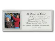 Message Mirror Frame: 50th Anniversary