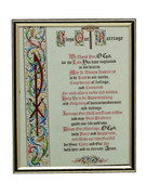 Gold Frame: BLESS OUR MARRIAGE (PL10823)