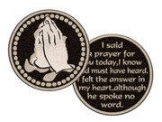 Pocket Token: I Said A Prayer
