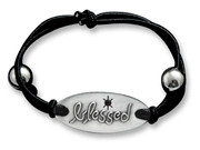 Stretch Bracelet: Blessed