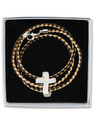 Wrap Bracelet: Cross