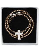Wrap Bracelet: Cross