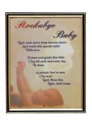 GOLD FRAME - ROCKABYE BABY