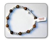 Precious Stone Bracelet: Tiger Eye (RB5222OT)