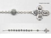 Rosary Bracelet: Rose Beads (BRC34)