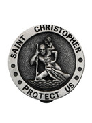 Visor Clip: St Chris Protect Us