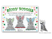 Bag Clips: Study Buddies Set 3