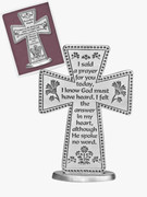 Standing Message Cross: I Said Prayer