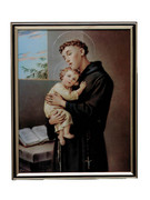 GOLD FRAME - ST ANTHONY