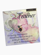 Austrian Crystal Pin: Teacher/Apple(LP13013)