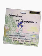 Austrian Crystal Pin: Bluebird Happiness