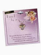 Austrian Crystal Pin: Kissed by Angel