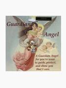 Austrian Crystal Pin: Guardian Angel #2