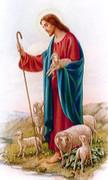 TJP Holy Card: Good Shepherd 23rd Psalm