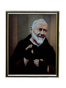 GOLD FRAME - PADRE PIO