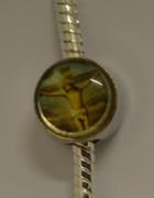 Bracelet Charm: Crucifix