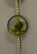 Bracelet Charm: St Jude